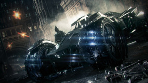 batmobile, Batman Arkham Knight