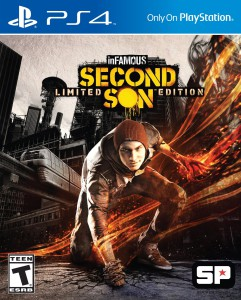 front cover, Infamous Second Son