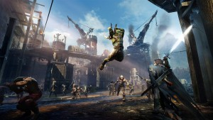 action scene, Middle Earth: Shadow of Mordor