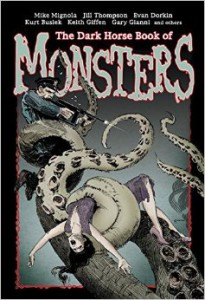 The Dark Horse Book of monsters cover