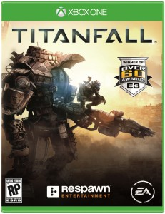 xbox one cover, titanfall
