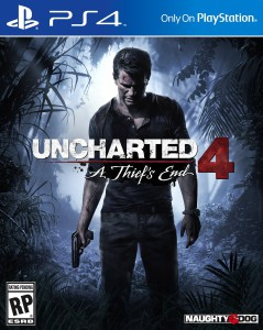 ps4 game, Uncharted 4: A Thief's End