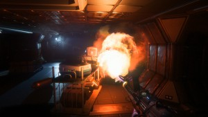flamethrower, alien isolation