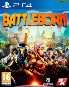 battleborn upcoming ps 4 game