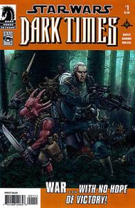 book cover, Star Wars Dark Times