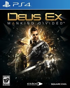 cover, Deus Ex: Mankind Divided