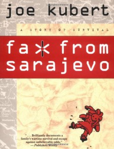 cover, fax from sarajevo