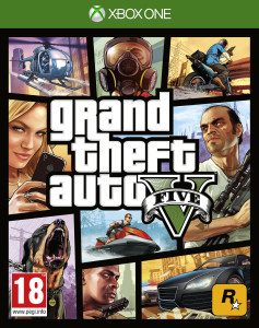 xbox one game, gta 5