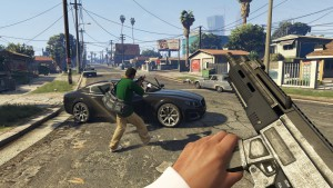 gta 5 action screenshot