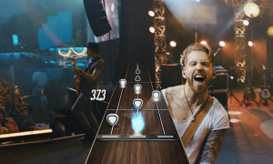 Guitar Hero live performance