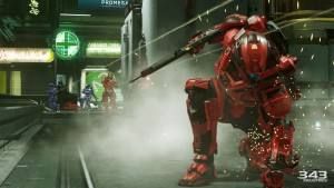 Halo 5 Guardians action scene