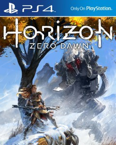 cover image, horizon zero dawn