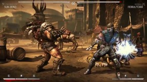 Mortal Kombat X, action scene