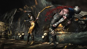 fight scene, Mortal Kombat X