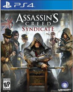 ps4 cover Assassin's creed syndicate