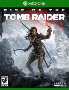 xbox game, Tomb Raider: Rise of The Tomb Raider