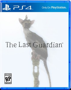 The Last Guardian, front cover