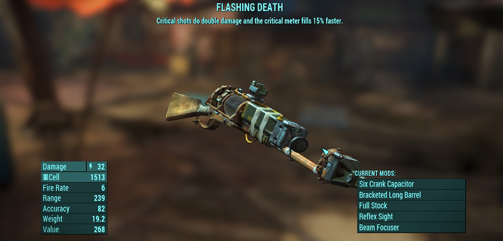 rare items in the game, fallout 4