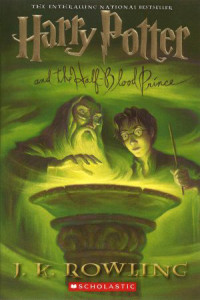 best sold books, Harry Potter and the Half-Blood Prince