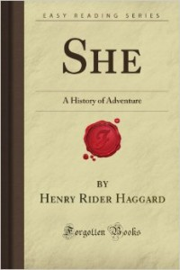 She: A History of Adventure, best seller book