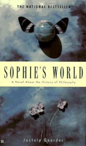 best seller book, Sophies World