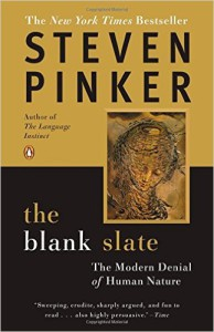 The Blank Slate book, Steven Pinker