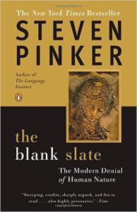 The Blank Slate book, Steven Pinker