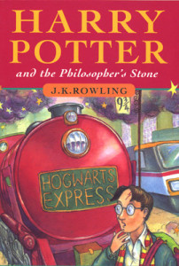 book, Harry Potter and the Philosopher's Stone