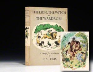 best seller book, The Lion, the Witch and the Wardrobe