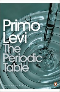 primo levi book, periodic table