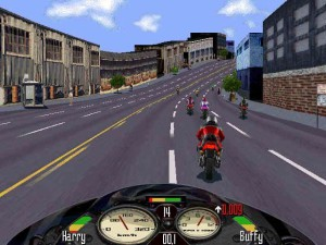 oldie game, road rash