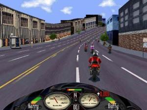 oldie game, road rash