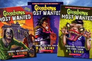 best seller horror books, Goosebumps