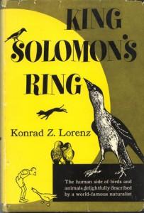 best science books, King Solomon's Ring