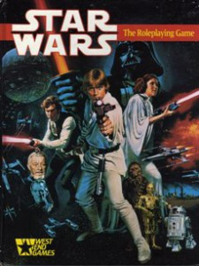 books, Star Wars Role Playing Game