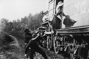 silent movies, The Great Train Robbery