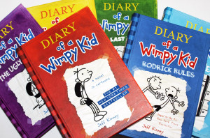 top seller books, The Diary of a Wimpy Kid