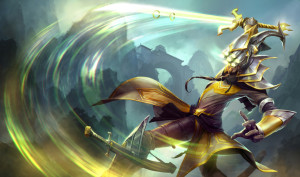 Master Yi, lol player