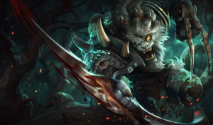 lol player, Rengar