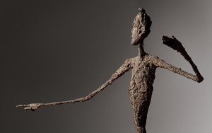 the most expensive sculpture ever, L'Homme au doigt