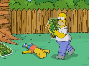 best the simpsons games