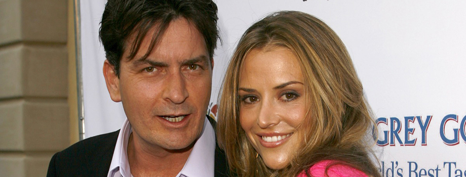 Charlie Sheen Attacked His Wife With a Knife