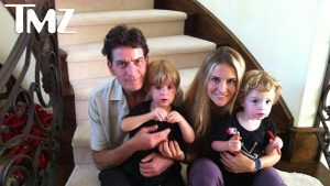 Charlie Sheen ex-wife and kids