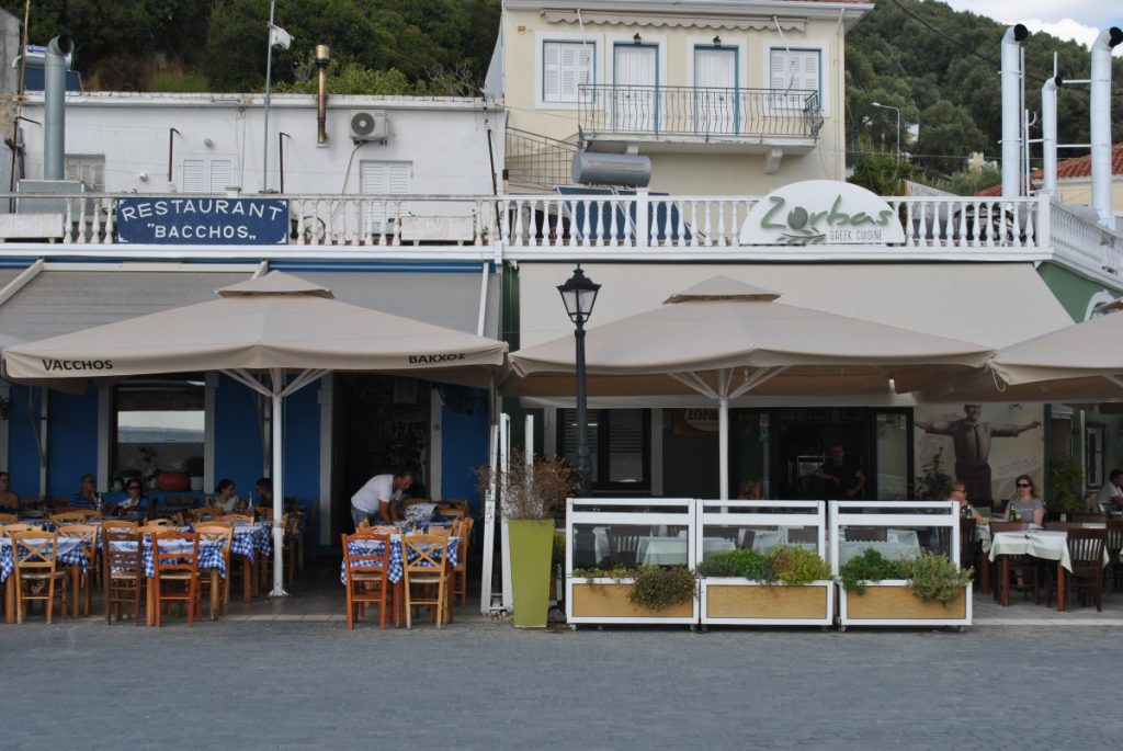 Bacchos and Zorbas, Parga, Greece