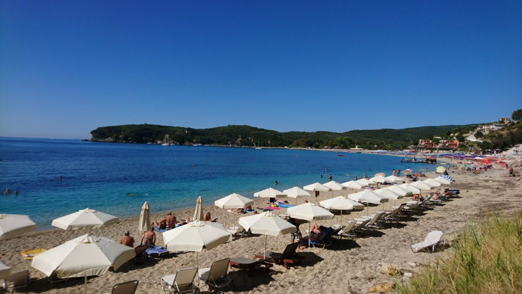 Valtos Beach, Parga, Greece