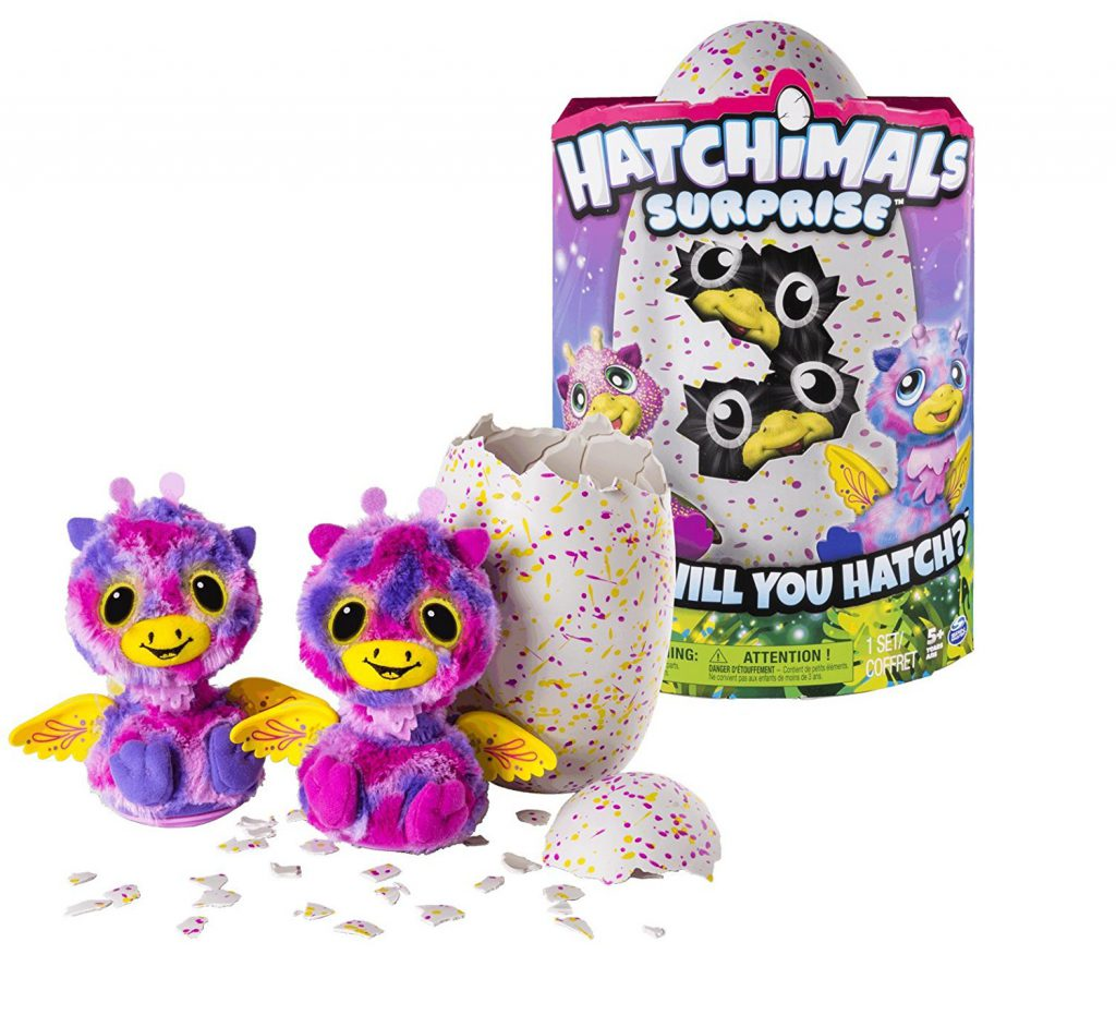 Hatchimals box and toy Christmas gifts for kids