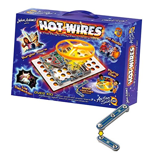 hot wires electronics kit box Christmas gifts for kids
