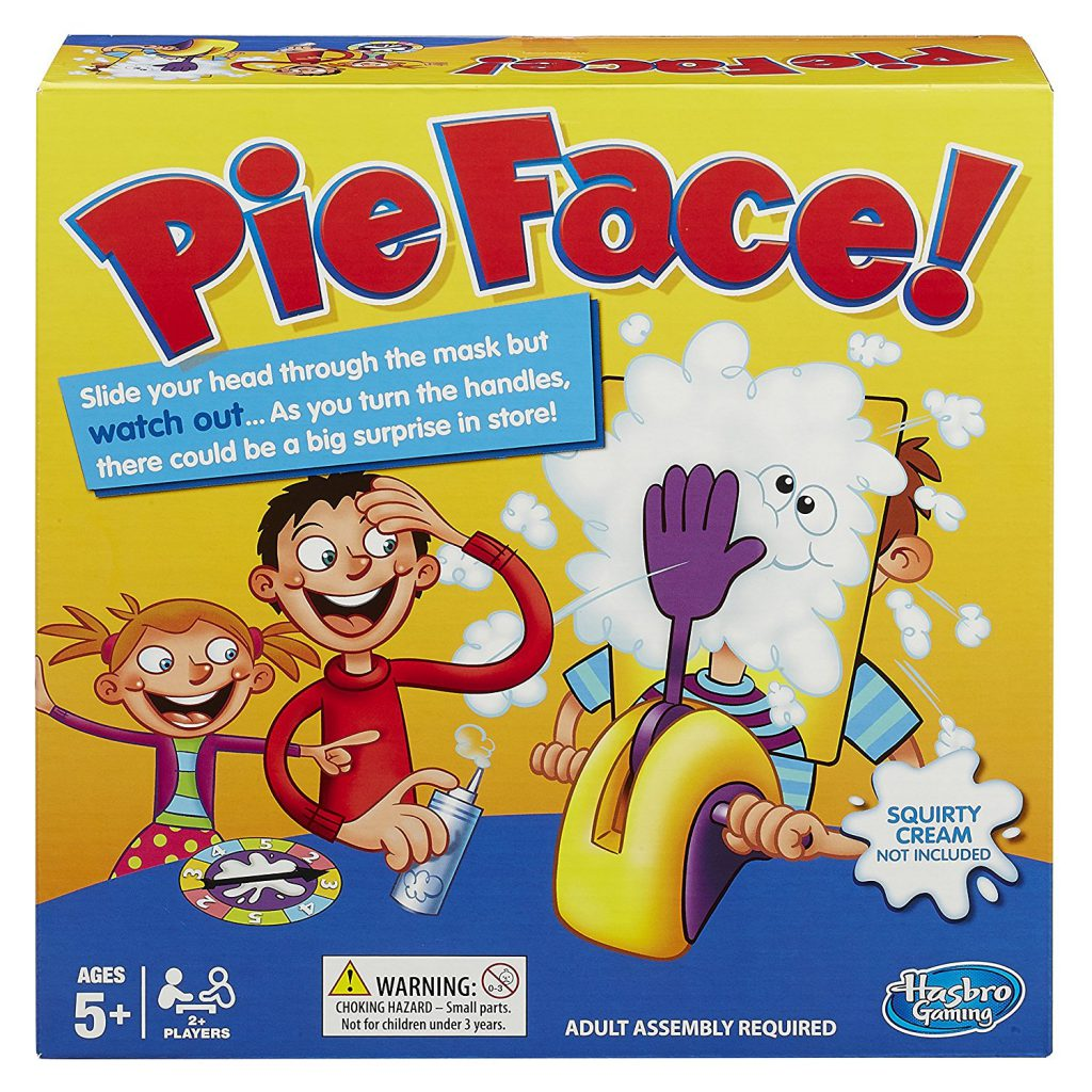 pie face game Christmas gifts for kids