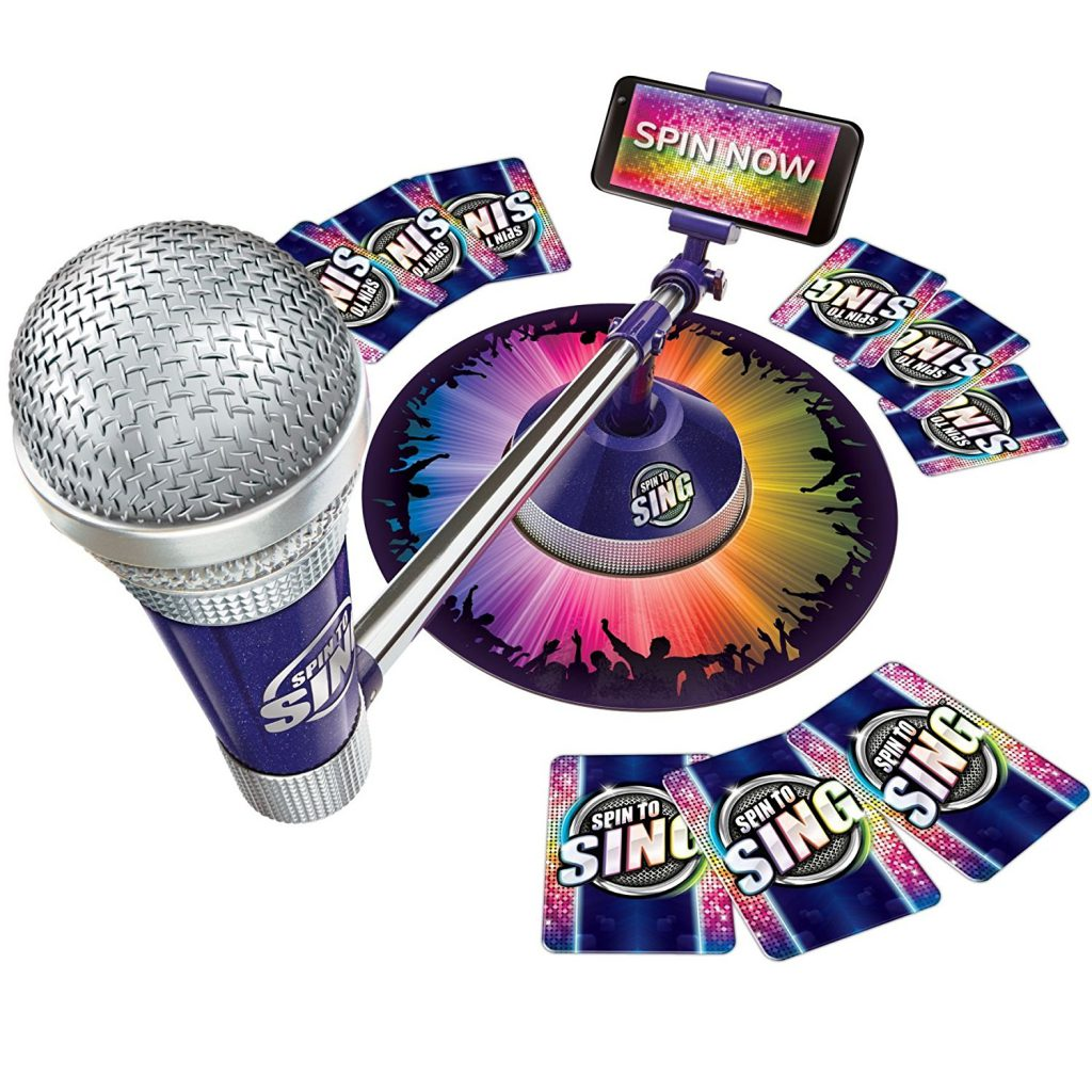spin to sing game set Christmas gifts for kids