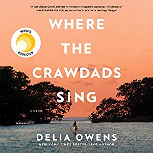 delia owens where the crawdads sing audio book